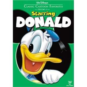 Cartoon Favorites, Vol. 2   Starring Donald: Donald Duck: Movies & TV
