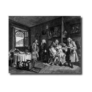 La Mode Plate Vi The Ladys Death 1745 Giclee Print: Home & Kitchen