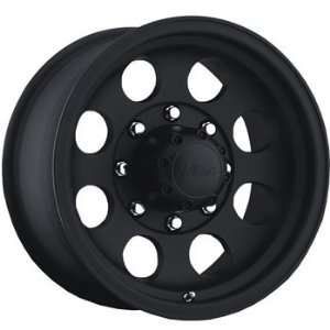 Pacer LT 16x8 Black Wheel / Rim 8x6.5 with a  6mm Offset and a 130.20