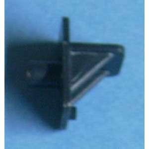 Shelf Supports Plastic Black 1/4 11811BK 60/bag