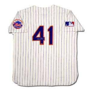 Tom Seaver Hand Signed New York Mets Mitchell & Ness 1969 Model Home