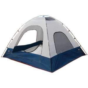 Black Pine Big Country 6 man Tent (White/Blue) Sports