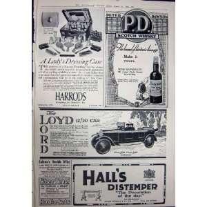 1923 ROLLS ROYCE MOTOR CAR HARRODS WHISKY LOYD LORD