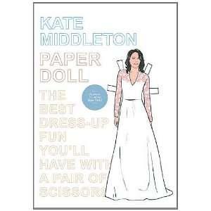 Kate Middleton Paper Doll (9780957005600): Mel Simone