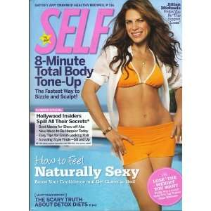 Self July 2009   Jillian Michaels 8 Minute Total Body Tone Up: Books