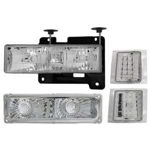 Matrix MTX 09 1298 Diamond Head Lights 8pc Complete Set