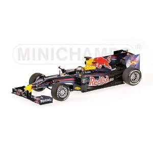 RED BULL RACING SEBASTIAN VETTEL SHOWCAR 2010 Diecast