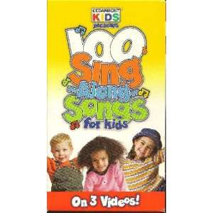 100 Singalong Songs for Kids [VHS] Cedarmont Kids Movies