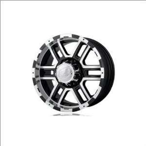 Ion Alloy 179 Black W/Machine 18x9 Black w/Machine   30