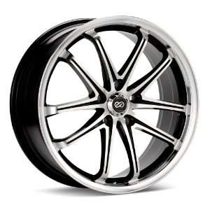 17x7 Enkei G5 (Black / Machined) Wheels/Rims 5x100 (445