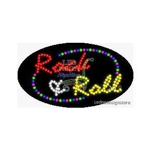 Roll LED Business Sign 15 Tall x 27 Wide x 1 Deep