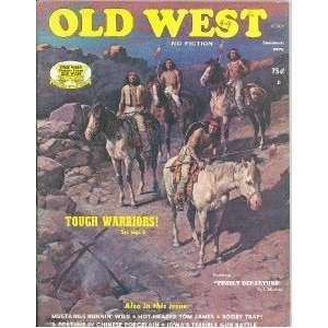 Old West Magazine Summer 1975 Spencer Iowa Gun Battle: Everything Else