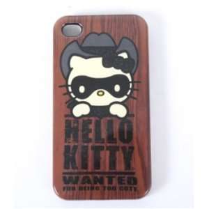 Hello Kitty Western Too Cute iPhone 4 Case Cell Phones