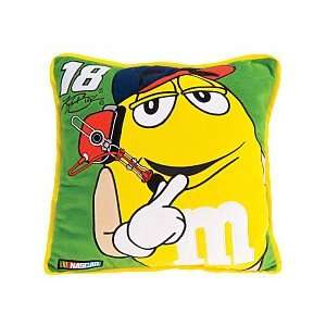 Toy Factory Kyle Busch Square Pillow: Home & Kitchen