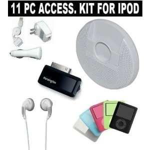 Kensington Pico FM Transmitter + 3 in 1 iPod Charger Kit Home/Travel