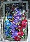 Joan Baker Designs Hummingbird Lilies Suncatcher Table top decor 10 x