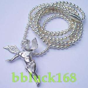 ANGEL WINGS 925 STERLING SILVER PENDANT NEW w/CHAIN