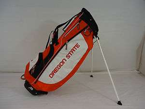 COLLEGIATE SUN MOUNTAIN THREE 5 STAND CARRY GOLF BAG (OREGON STATE
