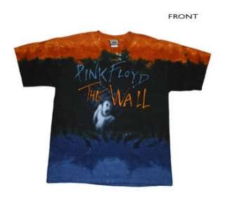Pink Floyd   Run Like Hell Tie Dye T Shirt