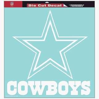 NFL Dallas Cowboys 8 X 8 Die Cut Decal