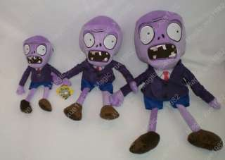 Brand new Plants Vs Zombies (PVZ) Purple head Zombie 9 soft toy