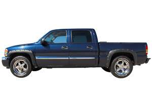 RIVET POCKET STYLE FENDER FLARES CHEVY SILVERADO 99 02