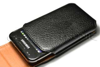 New Black belt clip on leather case holster for iphone 3g 3gs 4g