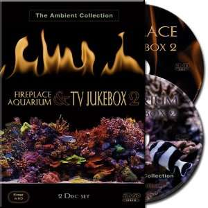 Fireplace TV Jukebox 2 & Aquarium TV Jukebox 2   Double
