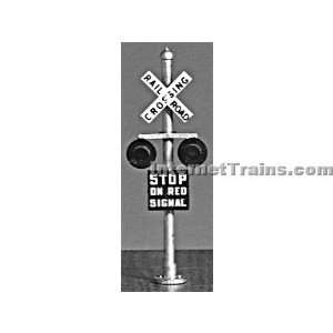 Oregon Rail Supply HO Scale Grade Crossing Flashers (2 per