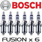 BOSCH Platinum Iridium Fusion Spark Plug Set for BM