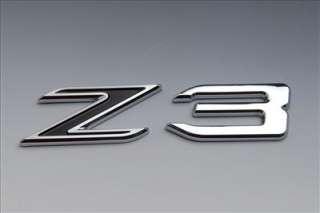 BMW Trunk Rear Emblem Badge Letters Z3 black uss