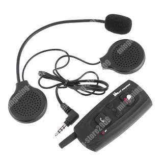 1pcs BT Bluetooth Interphone 2 Way motorcycle Helmet Intercom 500M