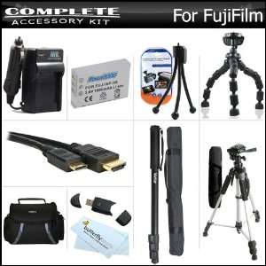 Complete Accessory Kit For Fuji Fujifilm X S1, XS1 Digital