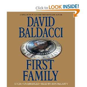 First Family David Baldacci, Ron McLarty Books