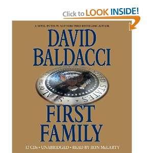 First Family David Baldacci, Ron McLarty Books