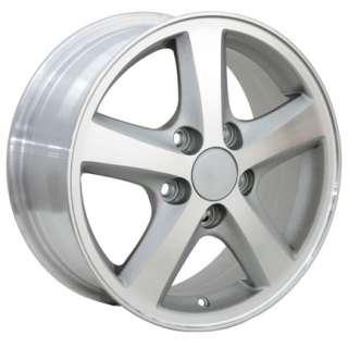 15 Rim Fits Honda Civic Wheel Silver 15x6