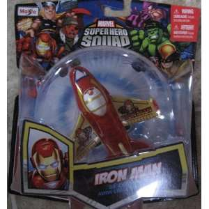 Marvel Super Hero Squad IRON MAN Sky Squadies Die Cast