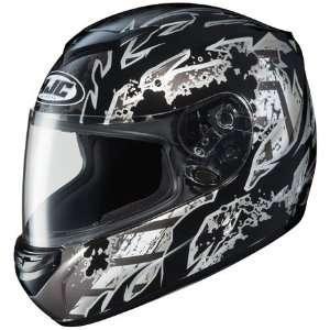 HJC CS R2 Skarr Full Face Motorcycle Helmet MC 5 Black Extra Large XL