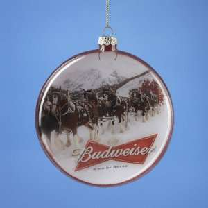 Club Pack of 12 Budweiser Beer Clydesdale Horse Disk