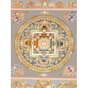 Yab Yum Mandala with Great Adepts, Wrathful Protectors and