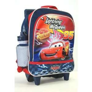 Disney Pixar Cars Roller Luggage Backpack for Children