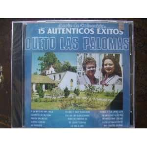 15 Autenticos Exitos Cd Dueto Las Palomas Music