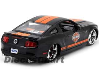 MAISTO 124 32170 2011 FORD MUSTANG GT HARLEY DAVIDSON NEW DIECAST