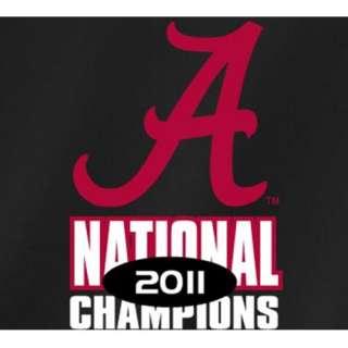 Alabama Crimson Tide T Shirts   2011 BCS National Champions   Black