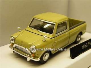 MINI PICK UP VAN 1/43RD SCALE MODEL GREEN BOXED MINT CLASSIC *