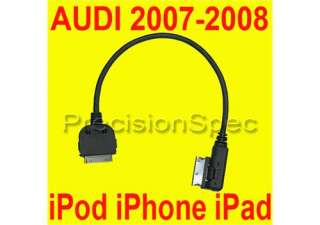 07 08 AUDI A4 A5 S5 A6 A8 Q7 IPOD IPHONE 4s AMI MMI CABLE 4F0051510E