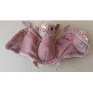TY Beanie Babies Batty the Bat Stuffed Animal Plush Toy   4 1/2 inches