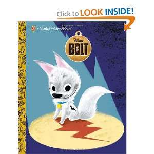 : Bolt (Disney Little Golden Book) (9780736425452): RH Disney: Books