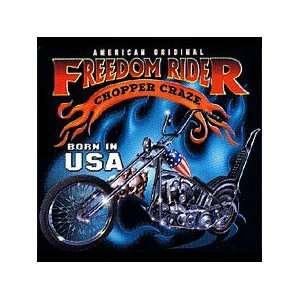 Freedom Rider Motorcycle T shirt, USA Chopper T shirts, Biker T shirts
