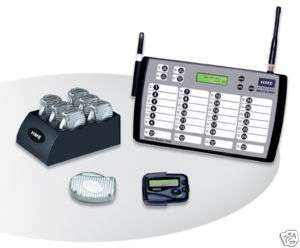 24 RESTAURANT PAGERS / SERVER PAGING SYSTEM
